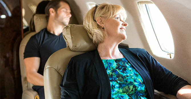 You're In A Plane, So Just Relax And Toss Stress Away