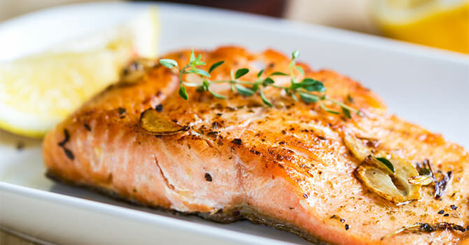 Salmon Is One Of The Best Foods For The Skin