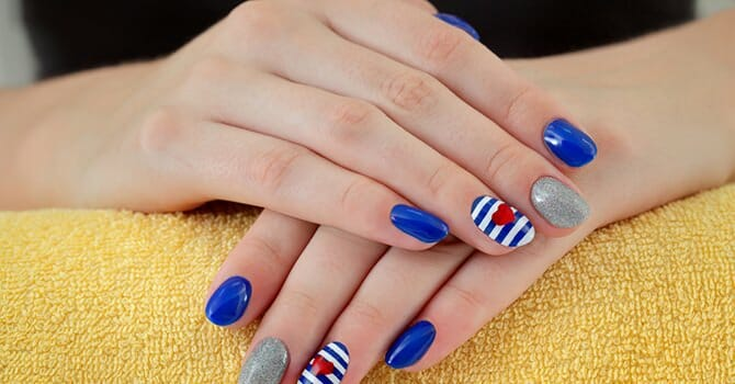 A Healthy Nail Is Fun To Put Design On