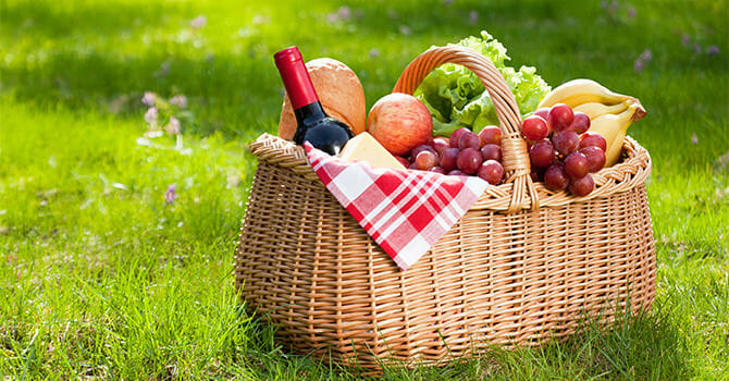 Always Make Sure That You Have The Perfect Picnic