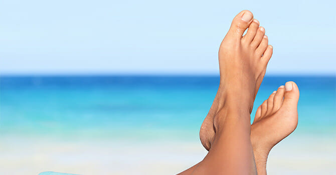 Healthy Feet Means No Fear Showing Them Off
