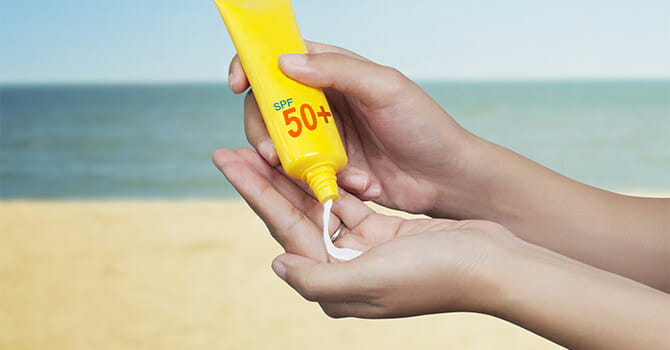 Sunscreen Are Effective Against The Harms Of The Sun