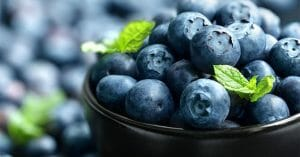 Certain Fruits Like Blueberries Have A Profound Effect On The Skin