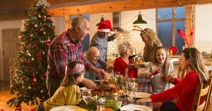 Holiday Time Is The Time For The Whole Family To Eat Together