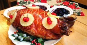 Pineapple Baked Ham Can Be The Highlight Of Your Christmas