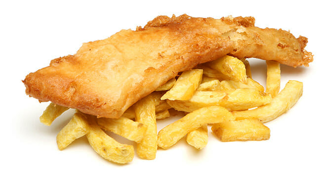 Fish And Chips Are Both Delicious And Healthy