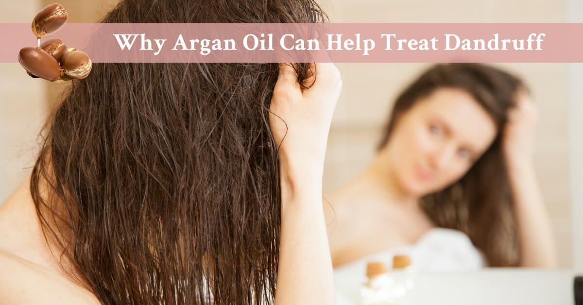 argan oil on hair