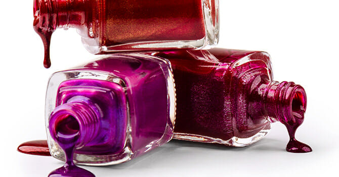 Some Nail Polish Comes With Toxic Chemicals
