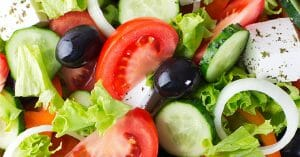 Salad Is A Healthy And Delicious Food