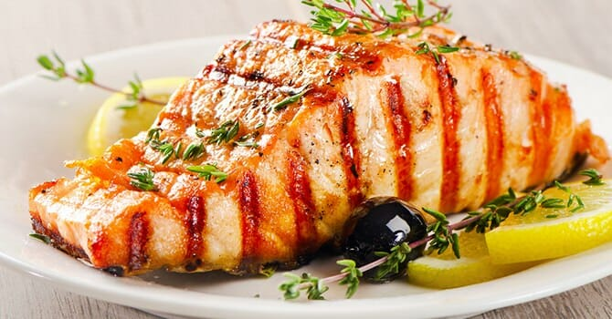 Salmon Is A Very Healthy Food