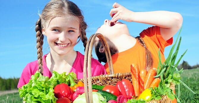 Children Should Learn The Value Of Healthy Eating At An Early Age