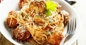 Meatball Spaghetti Is Kid'S Favorite, But No Matter How Old You Are, You An Enjoy It Too