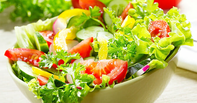 Salad Is One Of The Highlights Of Summer
