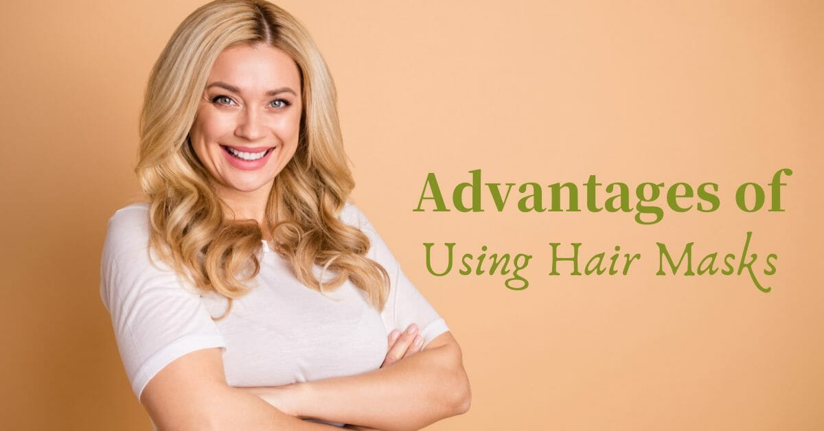woman smiling with pretty hair
