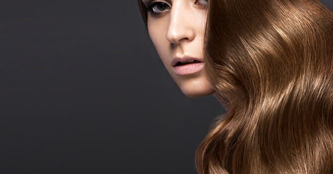A Healthy Hair Has Proper Amount Of Keratin