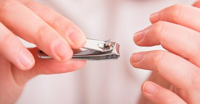 Trimming Your Nails Is Essential For A Healthy Lifestyle Because You Use Them To Eat