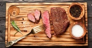 Steak Mixed With Healthy Ingredients Tastes Great