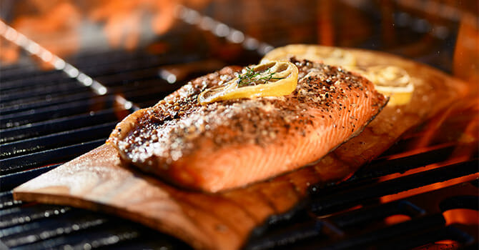 Grilling Fish On A Plank Brings Out A Whole New Flavor
