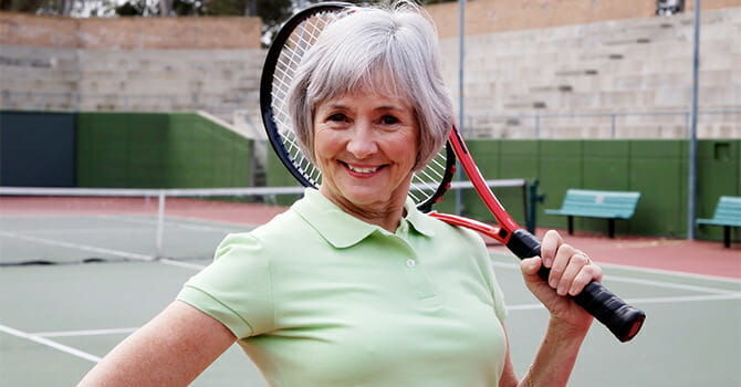 Beating Old Age Is A Matter Of Staying Active