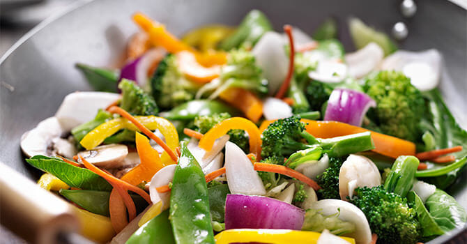 Stir Fry Is One Of The Most Common Dish During Summer