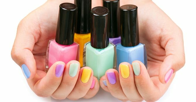 A Beautifully Colored Nail Can Attract A Lot Of Attention
