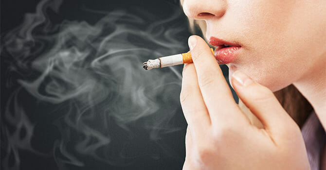 If You Smoke Regularly, You Are Ruining Your Skin