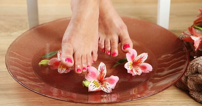 A Great Foot Soak Will Make Your Feet Feel Heavenly