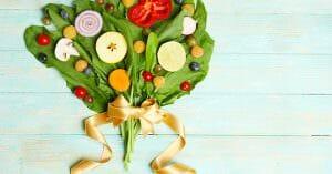 Eating Healthy Foods Keeps Us Beautiful
