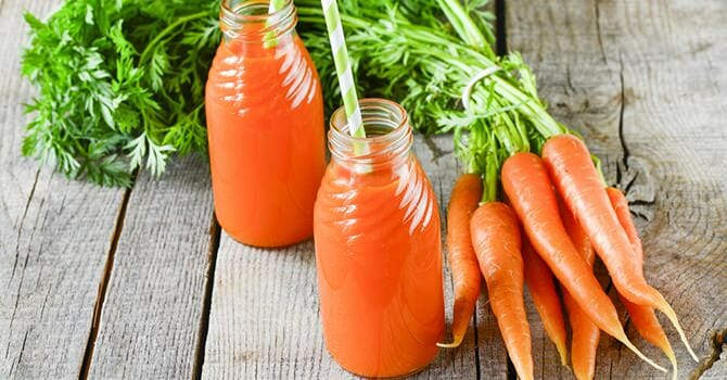 Carrots Contains A High Amount Of Nutritious Components
