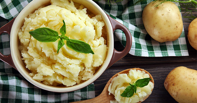 Mashed Potato Are Great And Healthy