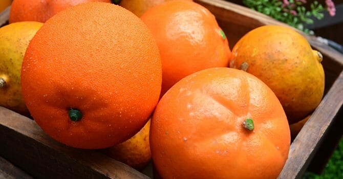 Orange Is A Great Source Of Vitamin C