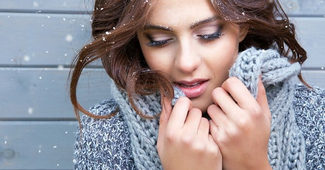 The Winter Season Can Bring Disaster To Our Hair