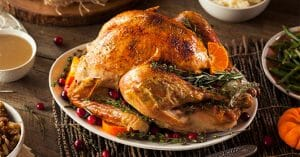 Roasted Turkey Is One Of The Best Dishes During Christmas Season