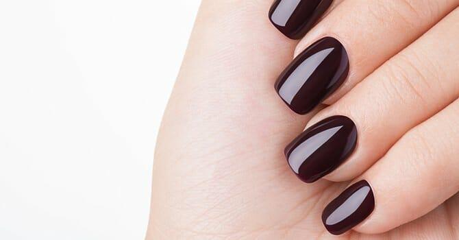 Shiny Nails Look Great