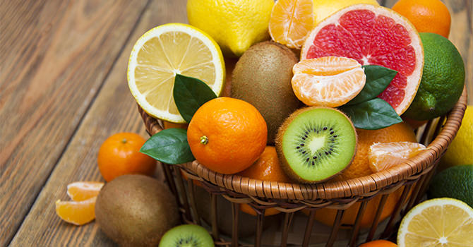 Fruits Are Delicious And Healthy