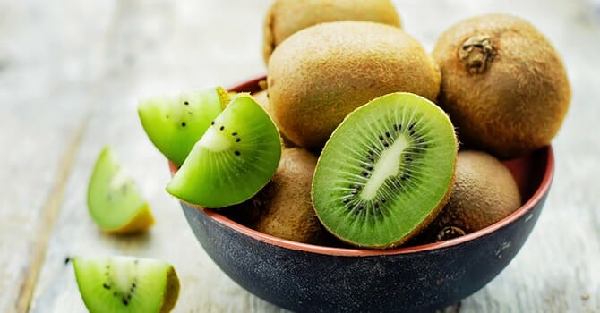 Kiwis Are Healthy And They Improve Collagen Production