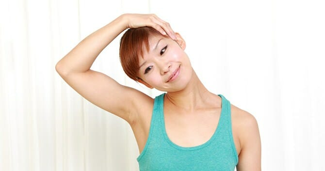 Neck Exercise Helps Prevent Stiff Neck