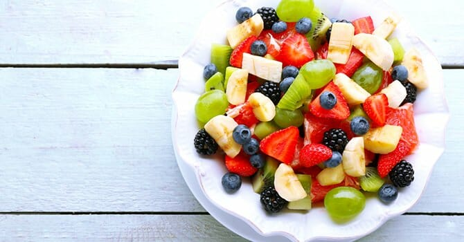Fruits Are Delicious And Healthy For Our Body