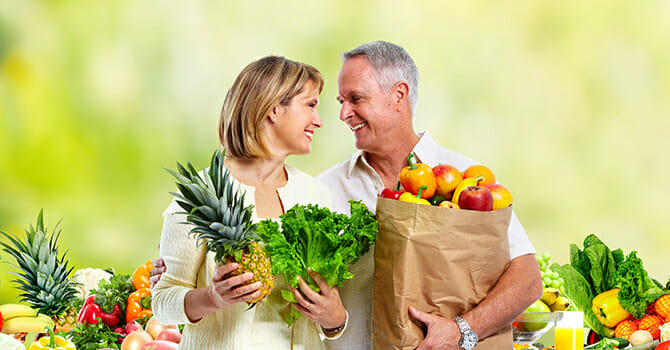 Eating Healthy Keeps You Young Looking