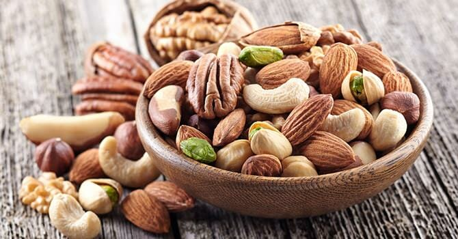 Nuts Provides Us With Energy
