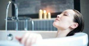 Warm Bath Stimulates Our Body