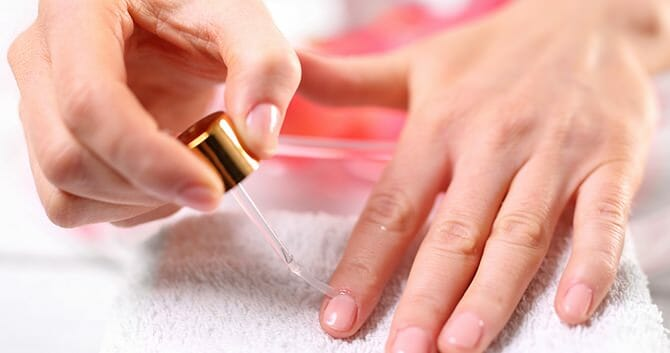 Applying Argan Oil To The Nail Improves Its Health