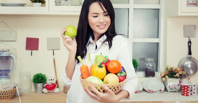 Healthy Diet Keeps Doctors Away And Keeps You Beautiful
