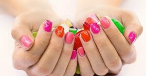colorful-nails