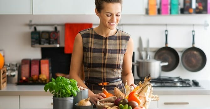 Eating Certain Amount of Foods Helps Prevent Skin Aging