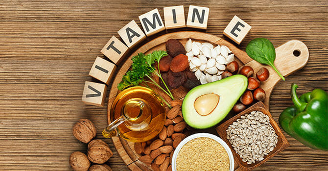 Vitamin E for Healthy Skin