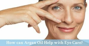 argan oil eye care