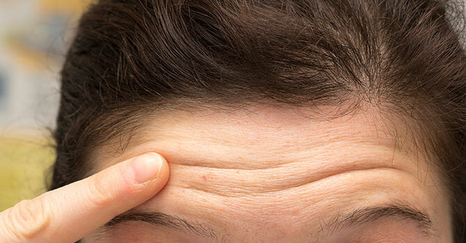 Reduce the Appearance of Forehead Wrinkles