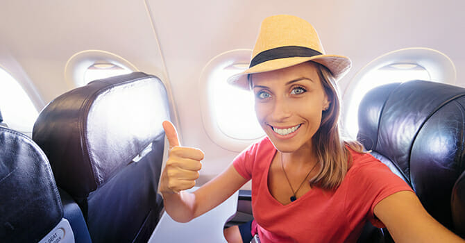 In-Flight Beauty Tips for Mature Women
