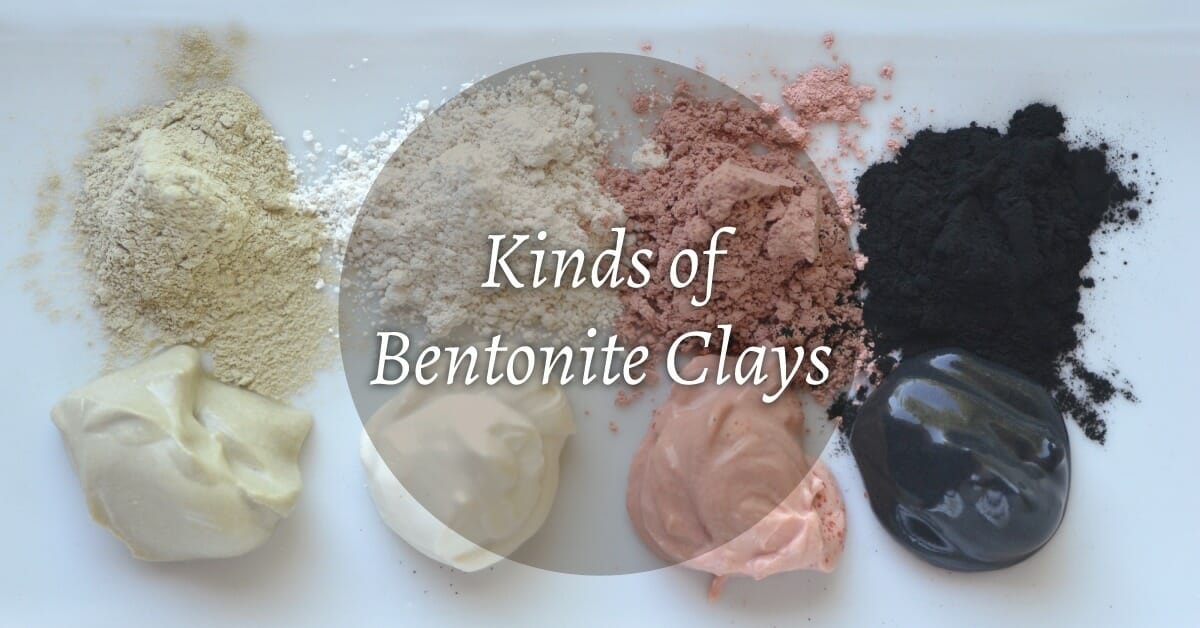 different kinds of clay